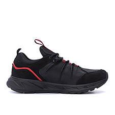 Чоловічі шкіряні кросівки MERRELL Black (репліка), фото 3