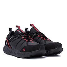 Чоловічі шкіряні кросівки MERRELL Black (репліка), фото 2