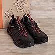 Чоловічі шкіряні кросівки MERRELL Black (репліка), фото 5