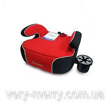 Автокресло бустер Welldon Penguin Pad (красный/черный) PG08-P02-003
