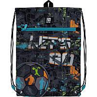 K21-601M-10 Сумка для обуви с карманом KITE 2021 Education Let's go 601M-10