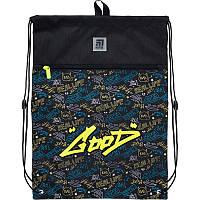 K21-601L-23 Сумка для обуви с карманом KITE 2021 Education Be sound 601L-23