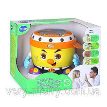 Интерактивная музыкальная игрушка Hola Toys Веселый барабан (6107)