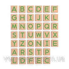 Набір магнітних букв Viga Toys Заголовні, 40 шт. (50588)