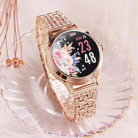 Смарт часы Фитнес браслет LEMFO LW07 женские с измерением давления и пульса