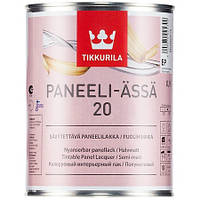 Лак для деревянных стен и потолков Панели Ясся Тиккурила (Paneeli Assa Tikkurila ) полуматовый ЕР 9,0 л