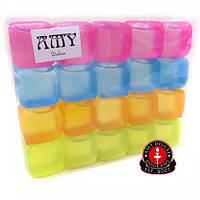 Кубики Amy для заморозки, цветные