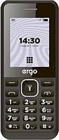 Кнопочный мобильный телефон ERGO B181 Dual Sim Black (6590349)