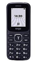 Кнопочный мобильный телефон ERGO B182 Dual Sim Black (6590350), фото 1
