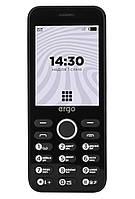 Кнопочный мобильный телефон ERGO B281 Dual Sim Black (6580775), фото 1