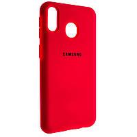 Накладка Hi-Copy Silicone Case для Samsung M20 2019 M205 Малиновый 00006829, КОД: 1251860