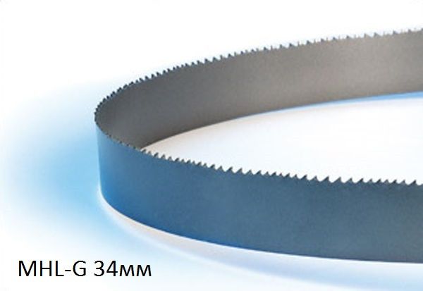 Полотна ленточнопильных станков MHL-G 34мм