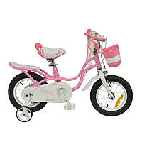 "Велосипед RoyalBaby LITTLE SWAN 14"", OFFICIAL UA, розовый, фото 1"