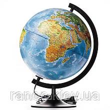 Глобус политический 220 мм. с подсветкой украинский язык