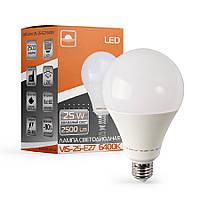 Лампа светодиодная высокомощная ЕВРОСВЕТ 25Вт 6400К (VIS-25-E27)