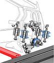💪Плиткорез ручной SHIJING DIAM ProLine 1200мм+ЛАЗЕР + Режущий ролик SHIJING Titanium 💪, фото 6