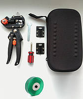Прививочный секатор для прививки в футляре Professional Grafting Tool с 3 ножами + отвертка и ключ+лента