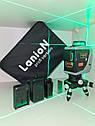 OSRAM діод 50м🡺Лазерний нівелір LanioN (Fukuda) 3D-EU+ШТАТИВ 1.2 м☝Професійна серія☝1 рік гарантія, фото 2