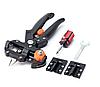 Прищепний секатор для щеплення у футлярі Professional Grafting Tool з 3 ножами + викрутка і ключ+стрічка, фото 4