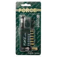 """Набор бит Force 2081 1/4"""" Torx 8 пр."""