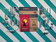 Ремкомплект задних тормозных колодок (ручника) Chevrolet Lacetti (Шевроле Лачетти) FSO (Польша) 1050025
