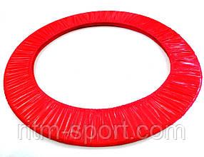 Чехол для обруча 55 - 90 см красный блестящий