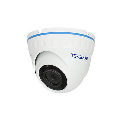 Відеокамера AHD купольна Tecsar AHDD-20F2M-out 28 mm