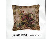 Декоративные наволочки 45х45 2шт. Arya Angelica, хлопок/полиэстер, гобелен.