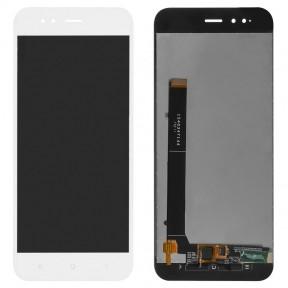 Дисплей Xiaomi Mi A1, Mi5x с сенсором (тачскрином) белый Оригинал Китай