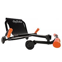 Самокат-каталка Ezyroller Classic, черно-оранжевый