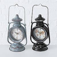 Настольные часы Лампа металл микс h25 см (1xAA 1.5V) Гранд Презент 1021686