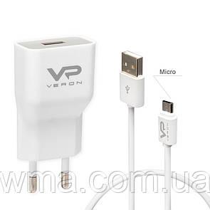 СЗУ Veron « AD-19M » QC2.0 Home Charger Set (Micro) -2A