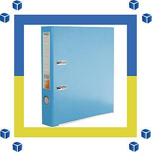 Папка - регистратор (сегрегатор) А4/50 Delta (голубая-односторонняя), фото 2
