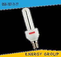 Лампа энергосберегающая e.save 2U, E14, 13Вт, 2700К