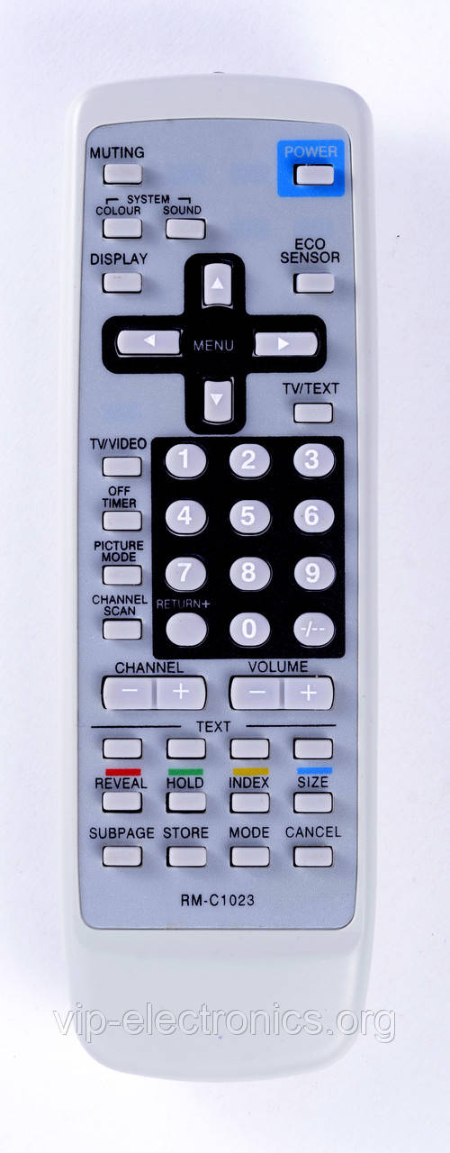 Пульт JVC  RM-C1023 (TV) з ТХТ як оригінал