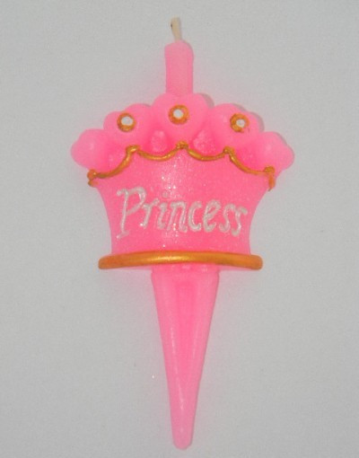Свеча Принцесса Корона 4х4 см