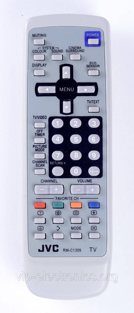 Пульт JVC  RM-C1309 (TV) з ТХТ як оригінал