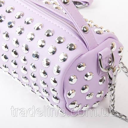 Сумка Женская Клатч иск-кожа FASHION 01-00 6853 purple, фото 2