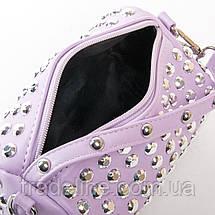 Сумка Женская Клатч иск-кожа FASHION 01-00 6853 purple, фото 3