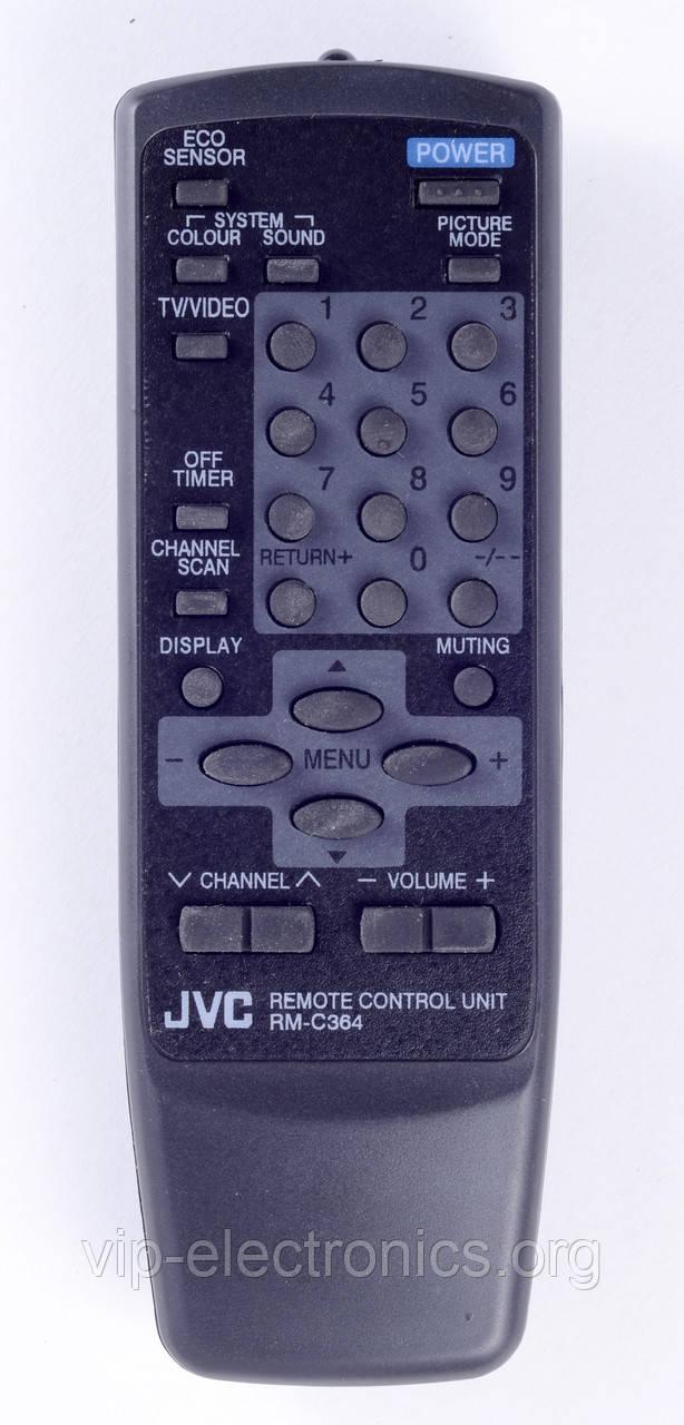 Пульт JVC  RM-C364 (TV) як оригінал  чорний