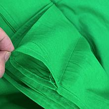 Фотофон коттоновый зеленый 3*2м