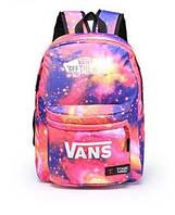 Рюкзак VANS космос розовый