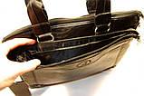 Мужская сумка POLO. Сумка портфель. Сумка ПОЛО. Стильный портфель. Сумка для офиса., фото 5