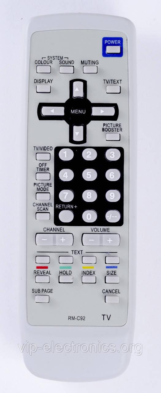 Пульт JVC  RM-C92 (TV) з ТХТ як оригінал