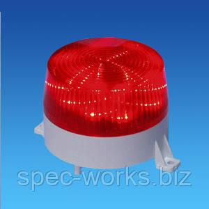 """Оповіщувач світло-звуковий """"ДУЕТ"""" внутрішній С-06С-12В"""