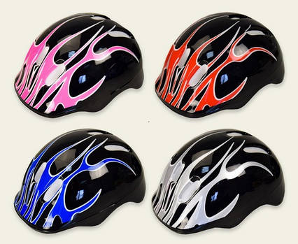 Защитный шлем для катания на роликах, велосипеде, скейле, самокате, велосипедный, детский