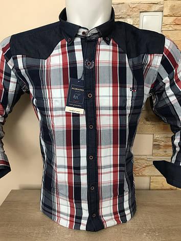 Котонова сорочка з довгим рукавом ALBIARO, фото 2