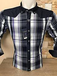 Чоловіча сорочка з довгим рукавом ALBIARO 100%котон