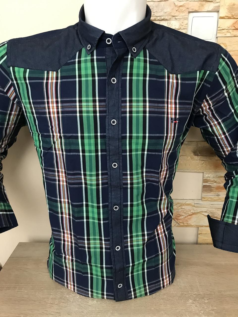 Котонова сорочка з довгим рукавом ALBIARO