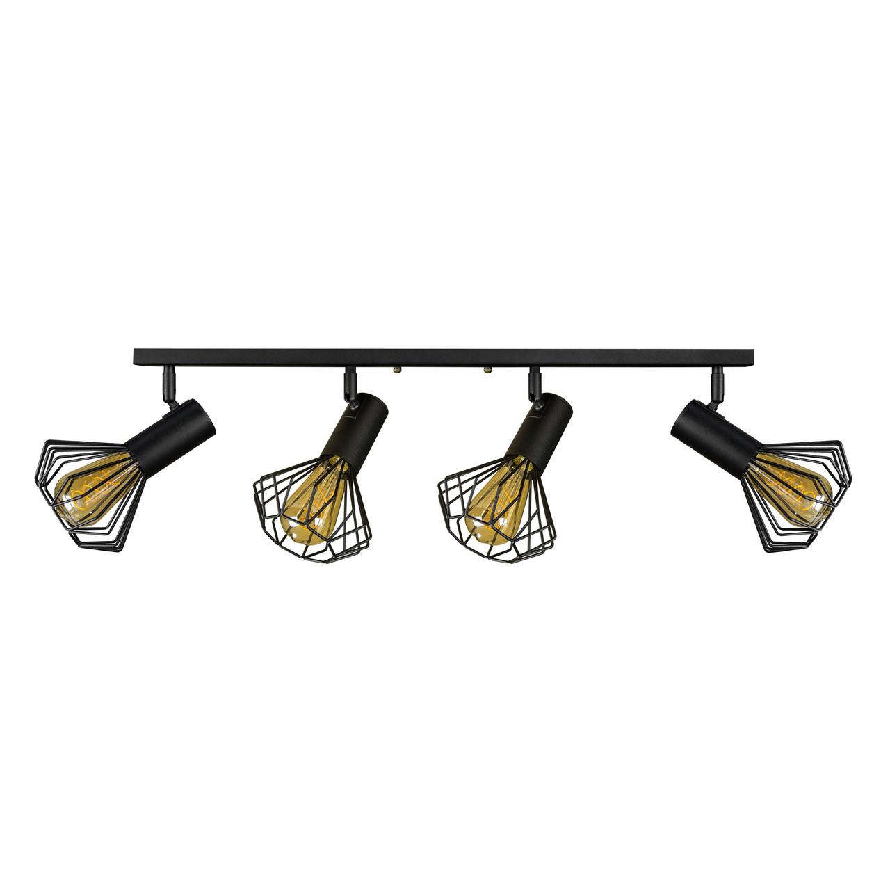 Светильник лофт MSK Electric Diadem настенно-потолочный NL 22151-4